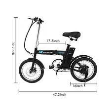ancheer bike folding commuter