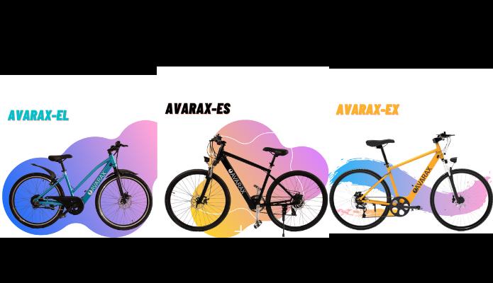 Avarax E Bike Models