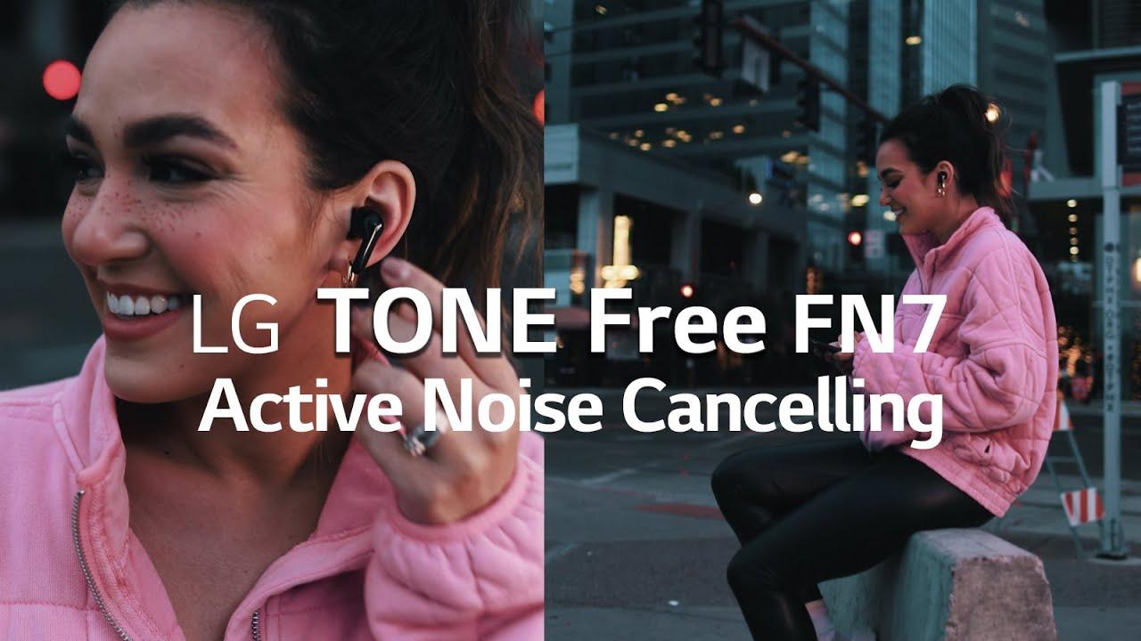 LG Tone Free FN7 earbuds